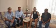 Başkan Gazi Ali Okluyu Ziyaret Etti