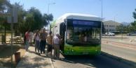 Büyükşehirin Elektrikli Otobüsü Hizmete Başladı