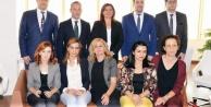 Baro yeni yönetiminin ilk ziyareti Çerçioğlu#039;na