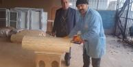 Çineli marangozdan yeni kara kovan