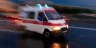 Direksiyon Hakimiyetini Kaybeden Motosiklet Sürücüsü Kaza Yaptı