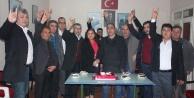 MHP Çine, 48. Kuruluş Yıl Dönümünü Pasta Keserek Kutladı