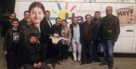 Hicran Çetiner Balcıya sürpriz doğum günü kutlaması