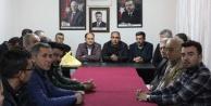 MHP Teşkilatı AK Parti#039;yi Ziyaret Etti