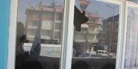 Çine AK Parti Binasının Camı Kırıldı