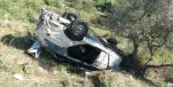 Hallaçlarda trafik kazasında 1 kişi öldü, biri çocuk 4 kişi yaralandı