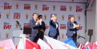 Vekil Mustafa Savaştan, 'EVET mitingine gösterilen ilgiye teşekkür