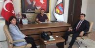 Çine Vergi Dairesinden Esnaf Odalarını ziyaret etti