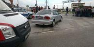 Çinede trafik kazası; 1 Yaralı