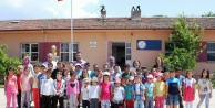 Kuruköy İlkokulunda çocukları sevindirdi