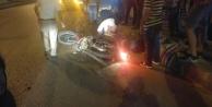 Çine#039;deMotosiklet, Otomobile Çarptı: 1 yaralı