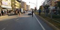 Çinede ışık ihlali kazaya neden oldu: 2 kişi yaralandı