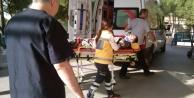Çinede Motosiklet Kazası: 1 Yaralı