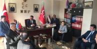 AK Parti Milletvekili Savaş, MHPyi ziyaret etti