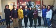 CHP Çine Kadın Kollarında Kırmızıgül Dönemi