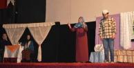 """Karar Senin İlk Namaz"""" Tiyatrosu Çinede Sahnelendi"""