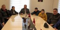 Öğrenciler Başkan Dinçeri Ziyaret Etti