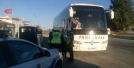 Çine#039;de Yolcu Otobüsleri Denetlendi