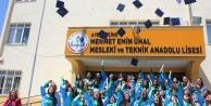Çine Mehmet Emin Ünal MTAL#039;de Mezuniyet Sevinci