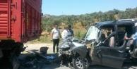 Çinede Trafik Kazası: 1 Yaralı
