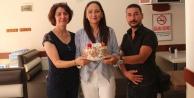 AK Parti Çine Kadın Kolları, Basın Bayramını Kutladı