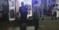 Çinede Motosiklet Devrildi: 2 Yaralı