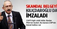 Skandal belgenin altında Kılıçdaroğlu'nun da imzası var