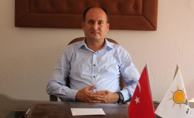 """AKP'li Başkan Tosun, """"Sezar'ın Hakkını Sezar'a Verin"""""""