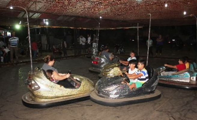 Çine'de, Çocukların Eğlenme Fırsatı Bulacağı Lunapark Açıldı