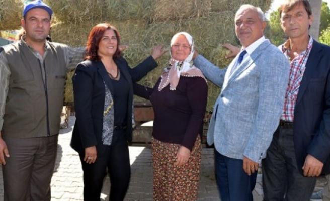 Topuklu Efe'den Çiftçiye Büyük Destek