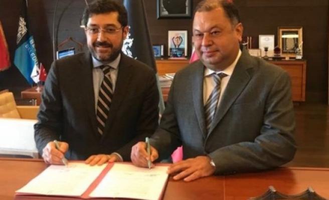Çine ve Beşiktaş Belediyesi Amfi İçin Protokol imzaladı