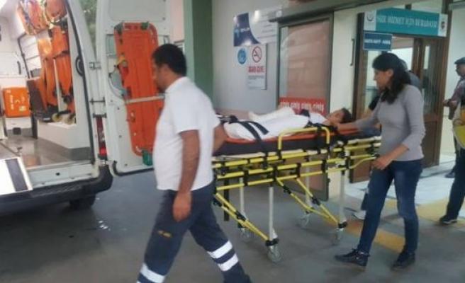 Çine'de Motosikletin Çarptığı Çocuk Yaralandı