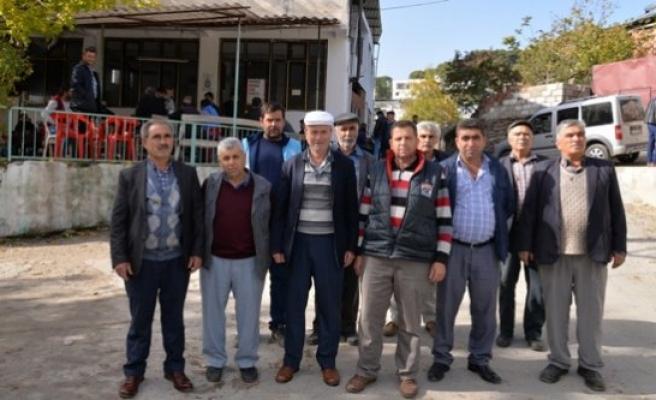 Muhtarlardan Başkan Çerçioğlu'na teşekkür
