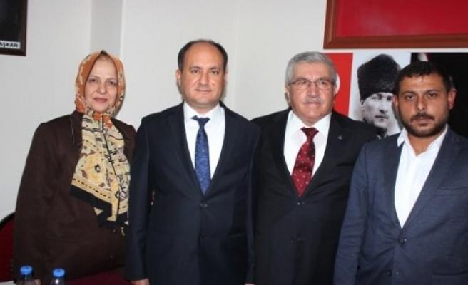 Ahmet Ertürk, Çine İlçe Teşkilatını Ziyaret Etti