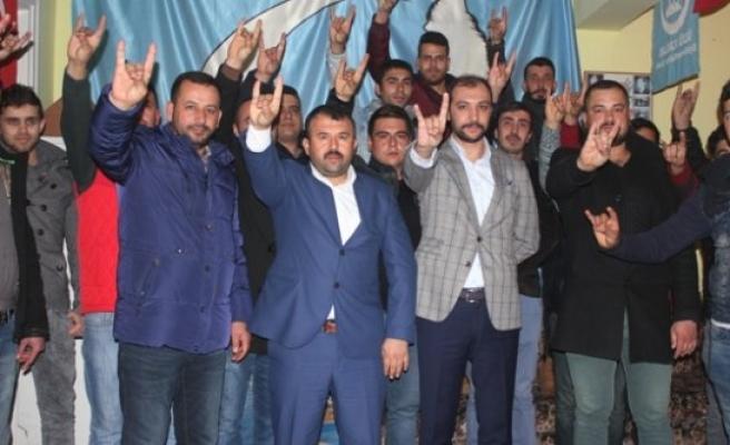 Emre Özbay'dan Ahde Vefa Ziyareti