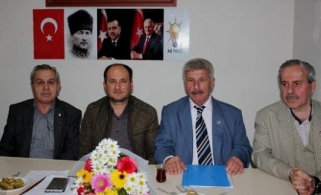 AK Parti Çine İlçe Başkanına ve Yönetimine Hayırlı Olsun Ziyareti