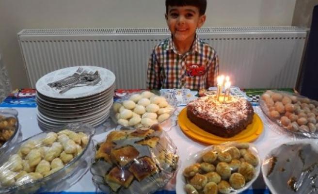 Eren Gökçe'nin 6. Doğum Günü Kutlandı