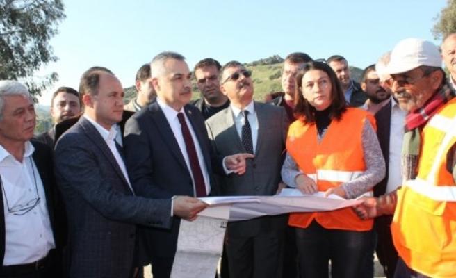 AK Parti'den Cumalı- Tepeköy Kavşağına, 1,5 Milyon Liralık Yatırım