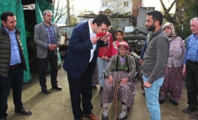CHP Milletvekili Baydar Gazi Oktay'ı Ziyaret Etti