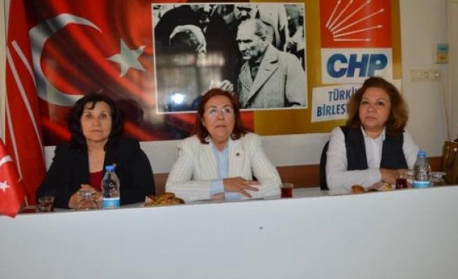 CHP'li Kadınlar Buluştu