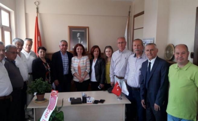 CHP'den AGC'ye Ziyaret