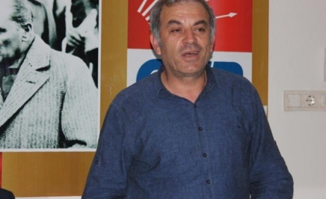 """CHP İlçe Başkanı Şahin """" Çiftçimiz Mağdur Edilmesin"""""""