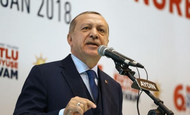"""Cumhurbaşkanı Erdoğan: """" Aydın, Türkiye'de Demokrasinin Başkenti"""""""