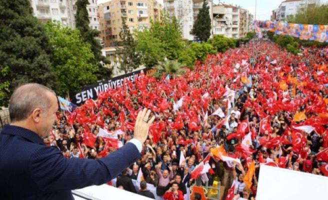 """Cumhurbaşkanı Erdoğan: """"Aydın'a Verdiğimiz Sözün Arkasındayız"""""""