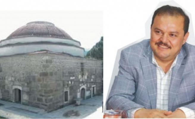 """Milletvekili Öz, """"Çine Ahmet Gazi Camii ve Ahi İbrahim Kümbeti Yenileniyor"""""""