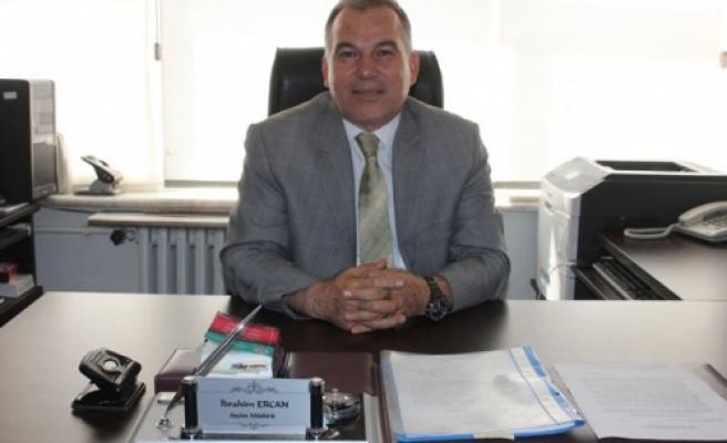 Yeni İlçe Seçim Müdürü İbrahim Ercan Çine'de Göreve Başladı