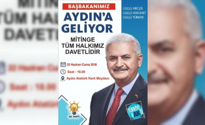 AK Parti İlçe Başkanı Tosun Çinelileri Mitinge Davet Etti