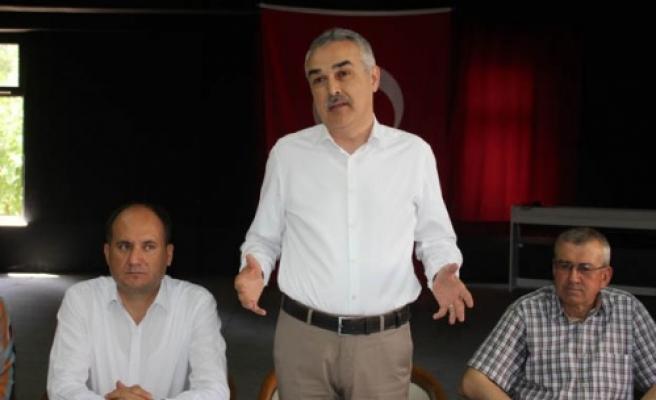 "AK Parti Milletvekili Savaş, ""Sizlerden alacaklıyım"""