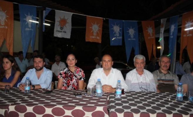 Çine'de AK Parti'ye Yoğun İlgi