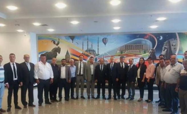 AK Parti Çine İlçe Teşkilatından Milletvekillerine Ziyaret